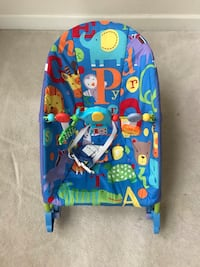 Fisher price infant to toddler rocker with calming vibrations  Triangle, 22172