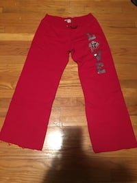 red and black Adidas track pants Proctorville, 45669