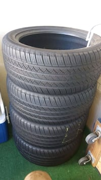 Summer tires, almost new. 275/45R20 Toronto, M1K 2E3