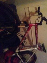 red and black hardtail bike 1961 km