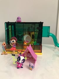 Littlest pet shop day camp with two extra sets Vancouver, V6K 2B1