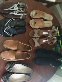 Shoes Lot 7.5/8 Gently Used Vince Camuto, Dolce Vita, and more Lakeland, 33813