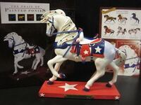 The Trail of Painted Ponies Star Spangled Rodeo Patriotic Horse Figurine  Indianapolis, 46224