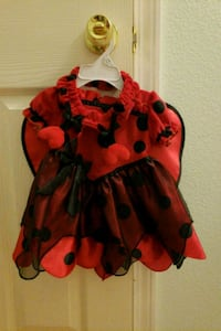 red and black floral dress Las Vegas, 89118