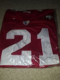 Deion Sanders new 49ers jersey