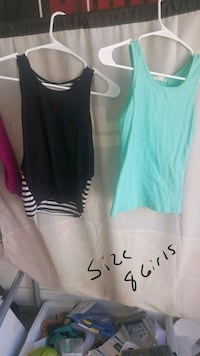 two black and mint-green tank tops Amarillo, 79118