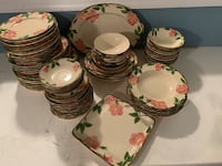 62 Piece Franciscan China Columbia