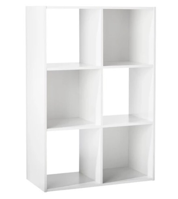 6-Cube Organizer Shelf