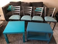 Metal dining chairs & accent tables Garden Grove, 92845