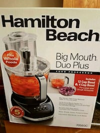 Hamilton Beach food processor  Winnipeg, R3N 1E8