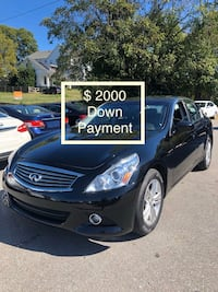 2015 infiniti Q40 only $ 2000 Down Payment  Nashville