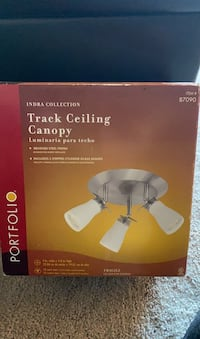 Track Ceiling Canopy Light