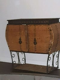 Wicker cabinet  Hampton, 23664