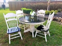 Round table w/4 chairs Porter, 77365