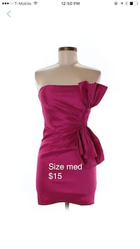 pink tube mini dress Wichita, 67207