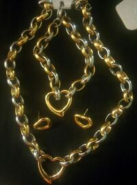 gold and silver heart pendant accessory Silver Spring, 20904