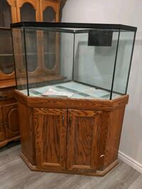 75 Gallon fish tank with oak stand  Thorold, L2V 3J1