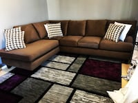 ⭐2019 Brand New Divani Mocha Sectional  in stock !!⭐ Calgary, T2A 5T2