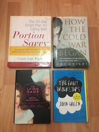 4 Books- great condition