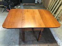 Winged Dining Table with Storage Drawer