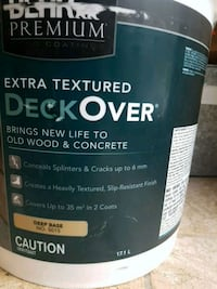 Brand new EXTRA TEXTURED DECKOVER by BEHR