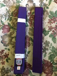 Violet belts for Martial art