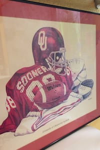 OU painting vintage