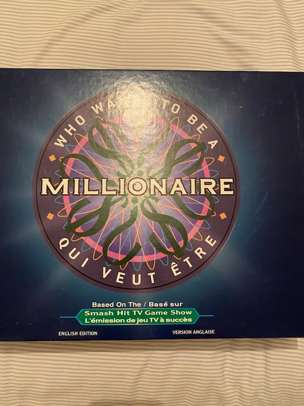 Who Wants to be a Millionaire Board Game 2d051ed5-887e-4a38-8424-13a6e7b9cfe3