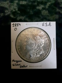 1884 O Morgan Dollar USA Sherwood Park, T8H 2G3