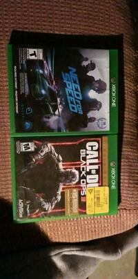 Black ops 3 and need for speed for xbox1