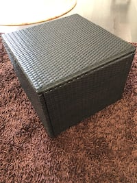 All-Weather Resin Wicker Table SUFFOLK