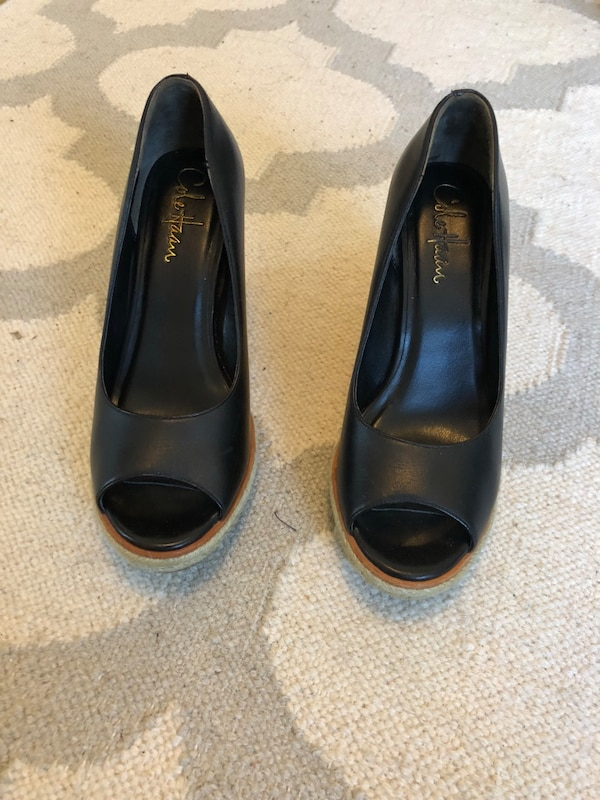 16e9ece046b Used Cole Haan Black wedges for sale in San Francisco - letgo