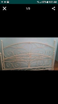 king bed headboard and foot board  Toms River