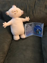 "Big plush Makka Pakka & DVD (""Into the Night Garden"")"