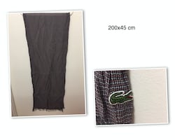 95% New Lacoste Scarves, POLO Shirts, White Shirt $25 each