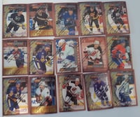 1996-97 Topps Finest Hockey Cards.  $3 Firm For A Calgary