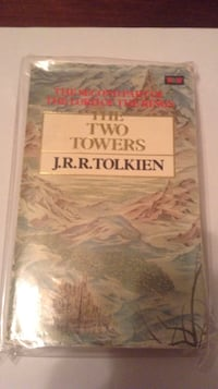 The two towers j.r.r. tolkien book