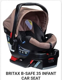 baby's black and gray car seat carrier screenshot