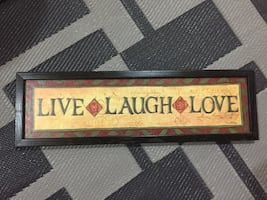 Live laugh and love illustration