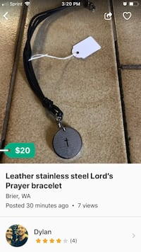 Leather Lord's Prayer