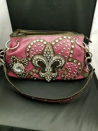 Pink Leather Purse  Edmonton, T5M 3R2