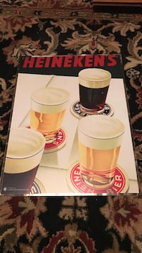 Heineken Beer Tin sign Old Saybrook, 06475