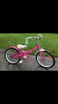 toddler's pink and white bicycle Cambridge, N3C 4L5