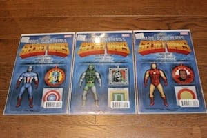 Action Figure Variant Comic Book Lot