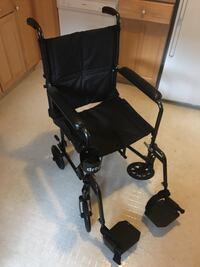 Drive Steel Transport Chair with cup holder and storage bag - Never Used. 2297 mi