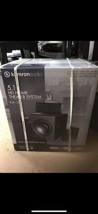 Kamron Audio 5.1 HD home theater system box