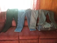 4 Pairs Mens Jeans. Great Conditon. Size 34/30..  Jacksonville, 32205