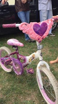Toddler's pink and white bicycle Circleville, 43113