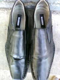 pair of black leather dress shoes Fresno, 93727