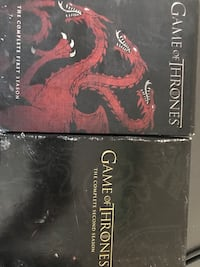 Game of Thrones Seasons 1 and 2